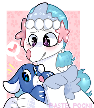 Popplio and Primarina by spvcepup
