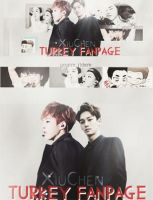 XiuChen Turkey Fanpage//Facebook Cover-Timeline by minally88