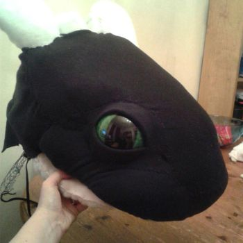 Toothless Quad Cosplay WIP by BigMamaBear