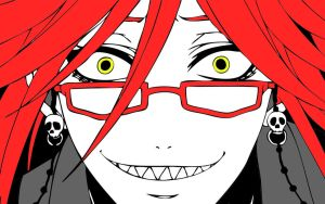 Grell Sutcliff by terrorsmile