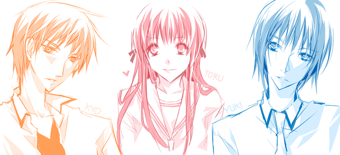 FRUITS BASKET by mixed-blessing