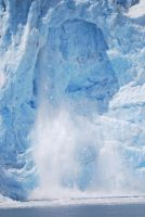 Falling Glacier Stock 10 by prints-of-stock