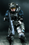 UNSC Army Soldier 2 by LordHayabusa357