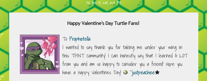 Don't forget to pick up your turtlegram! by Prophetella