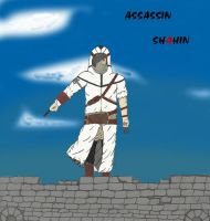 Assassin Shahin -colored- by Carcin09