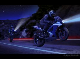 GSX-R 1K Midnight Canyon Run by Shreddin-Tread