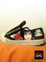 Naruto Custom Converse - Almost done by rayyzer