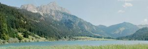 Mountainlake in Tirol pano by BlokkStox