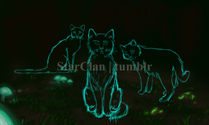 Stars In Their Paws - wip by Texas-Guard-Chic