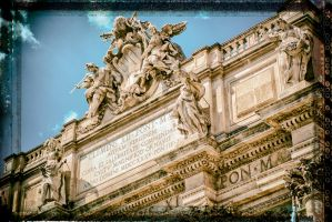 Trevi fountain by calimer00