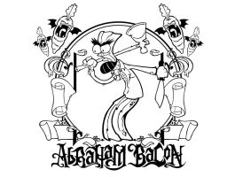 Abraham Bacon - t-shirt design by MightyPowerBluesW8