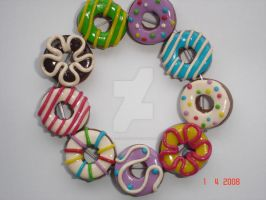 Donut Delight Bracelet by LittleCreations