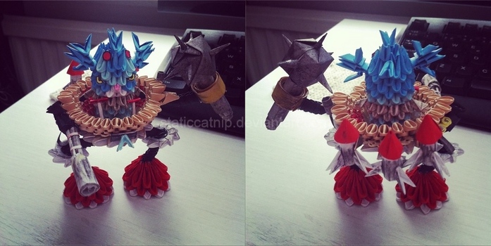 3D Origami: Rumble (League of Legends) by inyeon