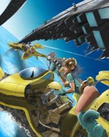 Flying Through Stratos City by sekido54