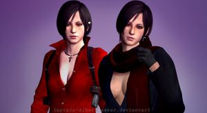 Ada and Carla by Captain-AlbertWesker