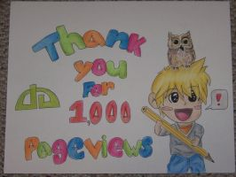 Thank you for 1,000 pageviews! by partyboy3543