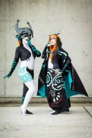 Midna and Midna by Lilouchann