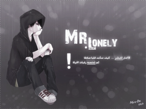 Mr. Lonely by Miro-Des