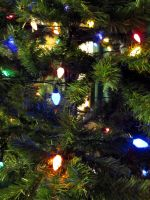 Christmas tree lights II by dull-stock