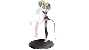 Gumi Tda Append and One Piece by lizmina