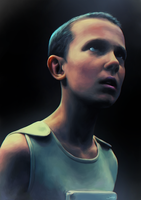 Eleven (Stranger Things) by junkome