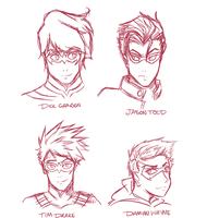 Doodles - Draw All The Robins! by LittleScarecrow