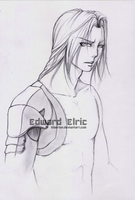 Edward Elric:. sketch by 5iberian