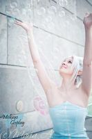 Periwinkle: bubbles by Mokuyo