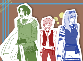 APH: The Gang by ohmystarrylies