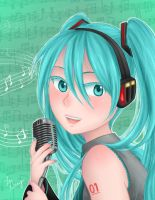 Music and Miku by LeGray