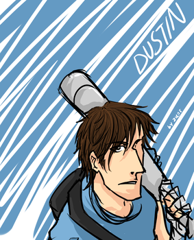 The name's Dustin by chainedsinner