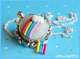 Over The Rainbow Necklace by bitterSWEETones