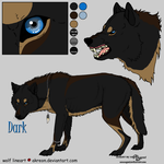 Dark reference sheet by Jenny2-point-0