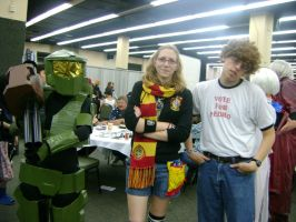 Master Chief at the animecon by Gubreez