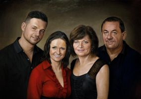 Portrait of family L. by pwerner4155