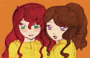 TMI and TID - Clary and Tessa by Felwyn