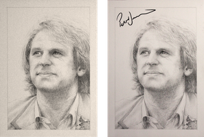 Drawing Doctor Who Project- Peter Davison by Atarial