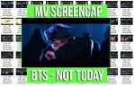 BTS - Not Today ScreenCap by memiecute