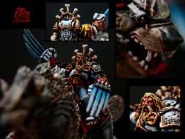 40K - Canis Wolfborn by TaoPhotography