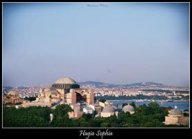Hagia Sophia without minarets by TuRKoo