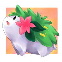 Shaymin from Pokemon by SakikoAmana
