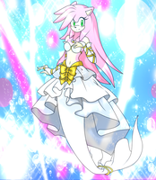 Wedded In White [Amy Rose The Merhog] by icefatal