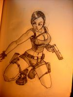 Lara Sketch by Fpeniche