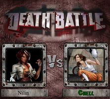 Nilin vs. Chell by JasonPictures