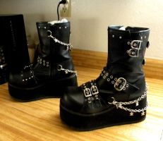 Boots 2 by Gothicmamas-stock