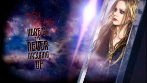 Avril Lavigne Here's to never growing up wallpaper by AxzlRose
