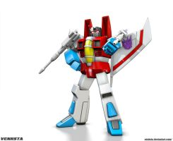 G1 Starscream - 10,000 by Venksta