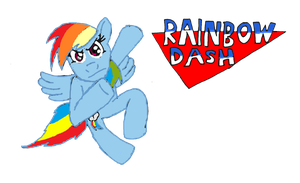RAINBOW_DASH by SpazJackrabbit1