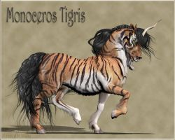 Monoceros Tigris by Daio