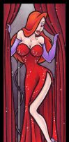 Diva - Jessica Rabbit by BlueUndine